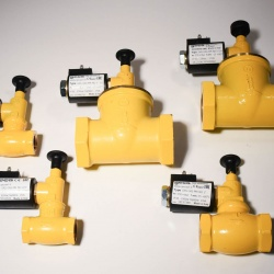 Gas Solenoid Valves Normally Closed